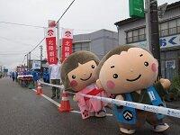 富山マラソン・金沢マラソン開催への協力