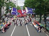 YOSAKOIソーラン祭り2018に出場