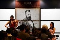 ギャルリ・ミレーでミュージアムコンサートを開催