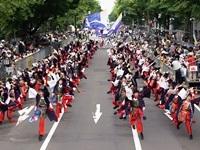 YOSAKOIソーラン祭りに出場